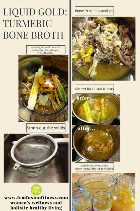 Tumeric Bone Broth