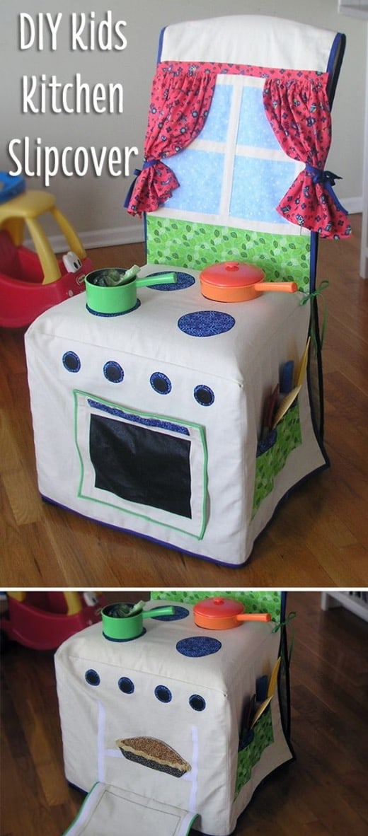 Toy Kitchen Chair Cover