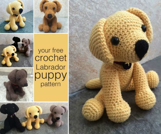 Crochet Dogs Free Patterns