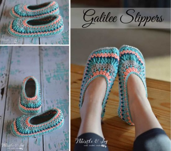 Crochet Galilee Slippers