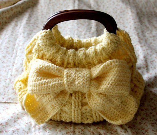 Crochet Handbags Patterns Pinterest 1