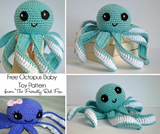 Crochet Octopus Free Pattern