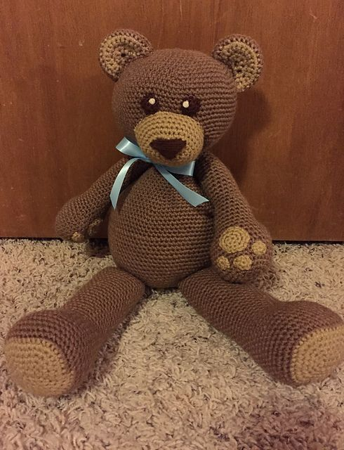 Crochet Teddy Bear Free Pattern