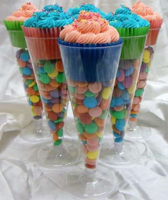 Cupcake Party Favors Ideas