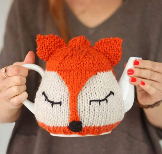 Fox Tea Cozy Free Pattern