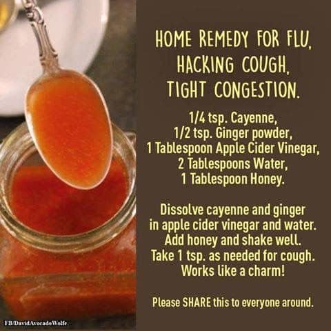 Home Remedy Flu