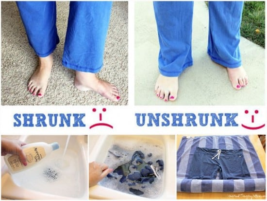 How To Unshrink Clothes After Washing