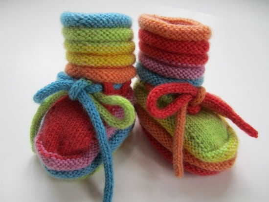 Knitted Baby Booties Free Patterns Cutest Ideas Ever Best Free Baby Booties Knitting Pattern