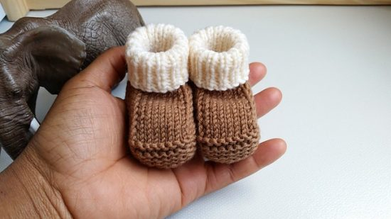 Knitted Baby Booties Free Patterns
