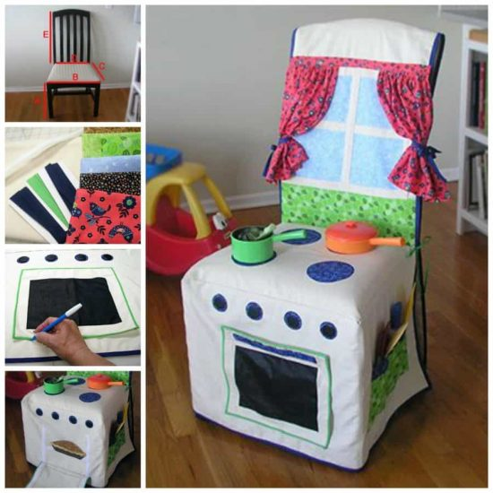 Play Kitchen Chair Cover  900x900