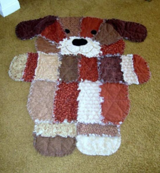 Gorgeous Puppy Dog Rag Quilt Pattern The Whoot