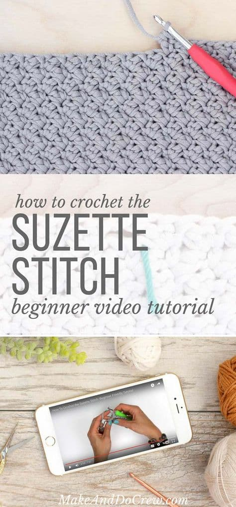Suzette Stitch Free Pattern