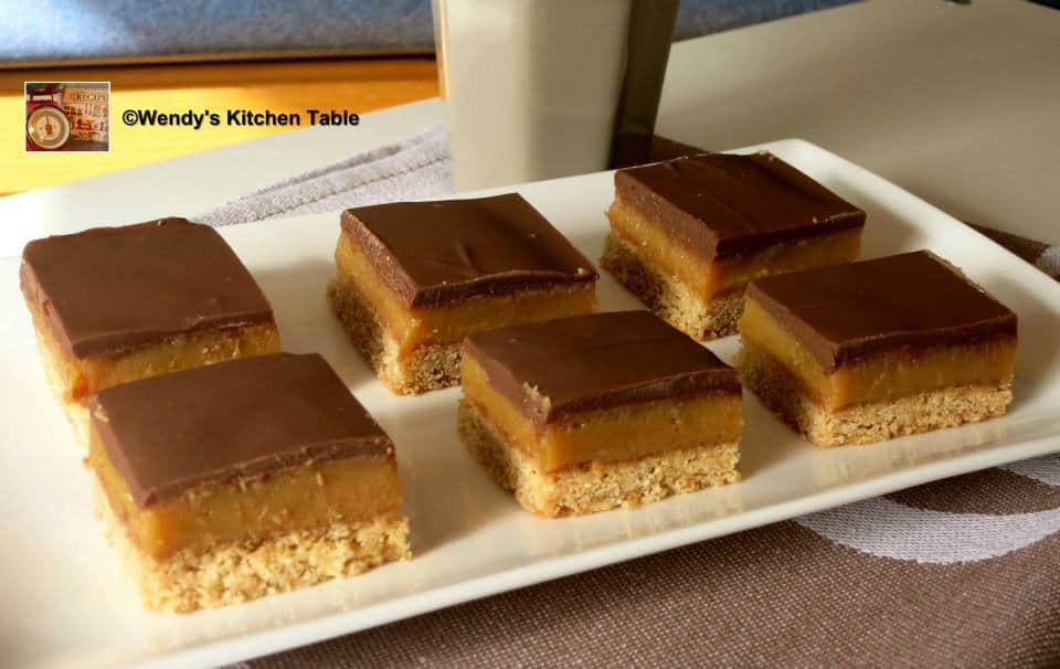 Chocolate Caramel Slice Recipe An Old Fashioned Family ...
