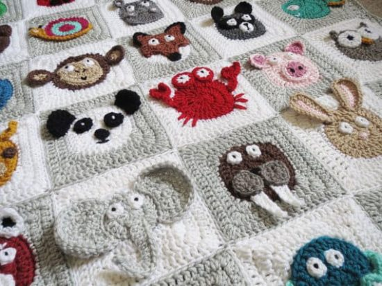 Crochet Zoo Baby Blanket Stunning Crochet Baby Blanket Patterns For Beginners