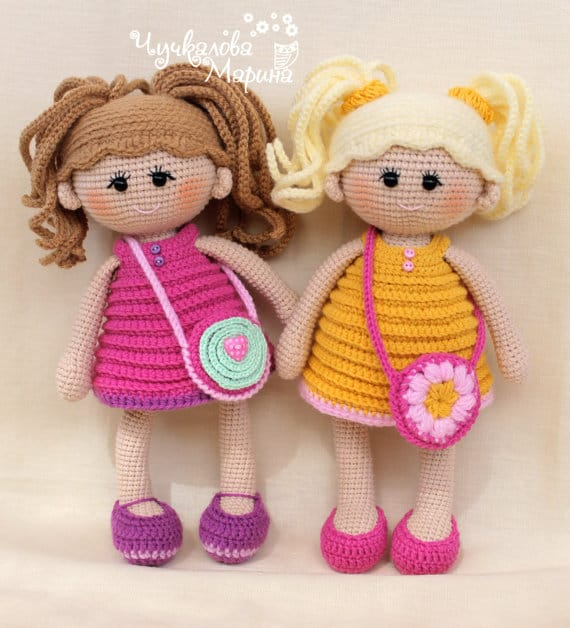 Amigurumi Fairy Doll - Free crochet pattern by Amigurumi Today ... | 628x570