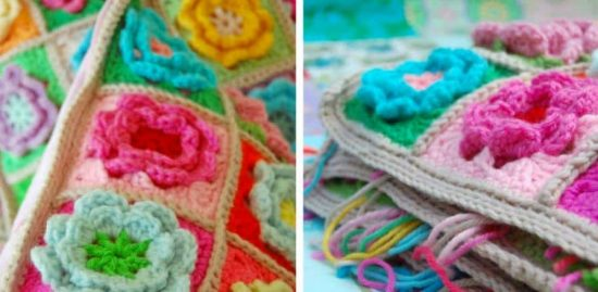 3D Flower Crochet Lots Of Free Patterns   The WHOot