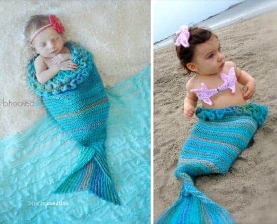 Crochet Mermaid Cocoon Baby Pattern Is Totally Adorable Stunning Free Crochet Pattern For Baby Mermaid Cocoon