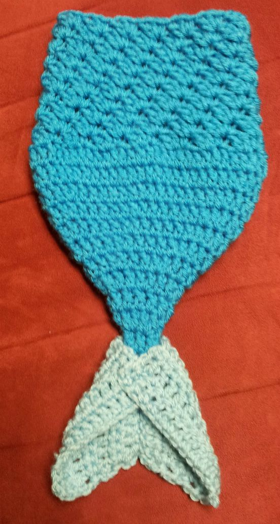 Crochet Mermaid Cocoon Baby Pattern Is Totally Adorable
