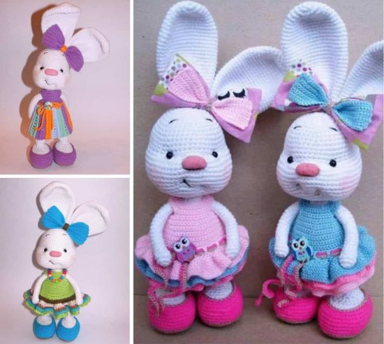 Free easter crochet patterns the best collection crochet bunny free pattern via crochet object ccuart Choice Image