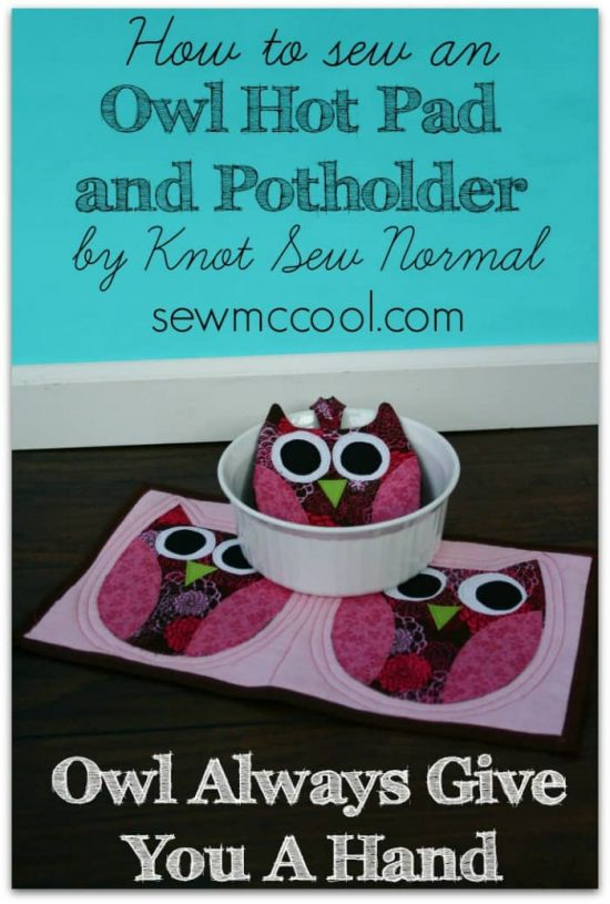 Owl Pot Holders Tutorial