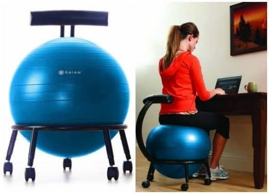 If You Sit At The Computer For Hours On End May Be Looking An Alternative Exercise Ball Seat Benefits Are Numerous