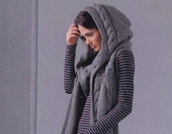 Learn to knit an entrelac scarf tutorial