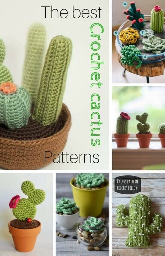 DIY Cactus Amigurumi Knit & Crochet Kit - Darn Good Yarn | 850x550