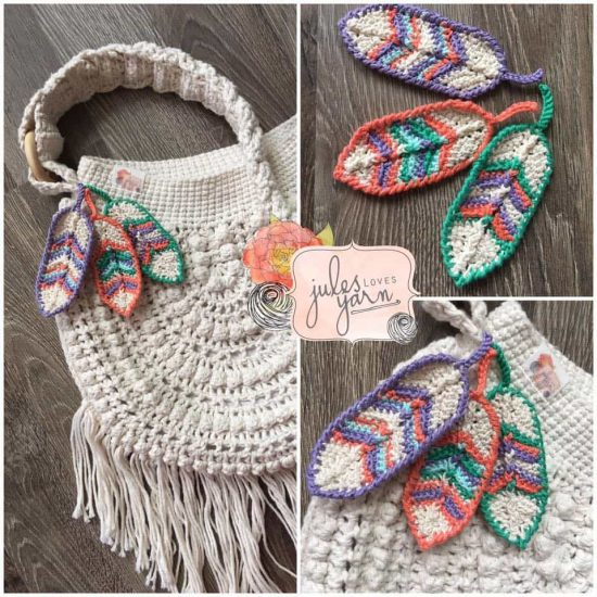 Crochet Feathers Pattern Free Tutorial All The Best Ideas