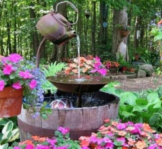 Teapot Water Fountain