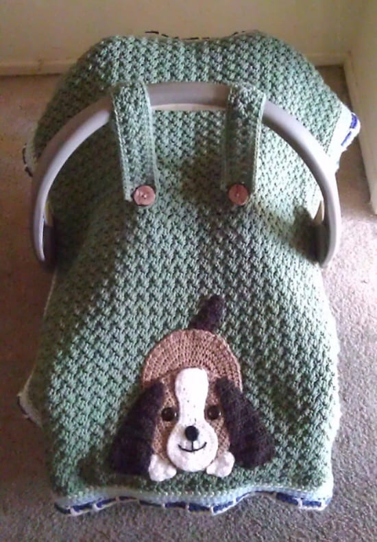 Crochet Car Seat Covers Pattern Free Video Tutorial