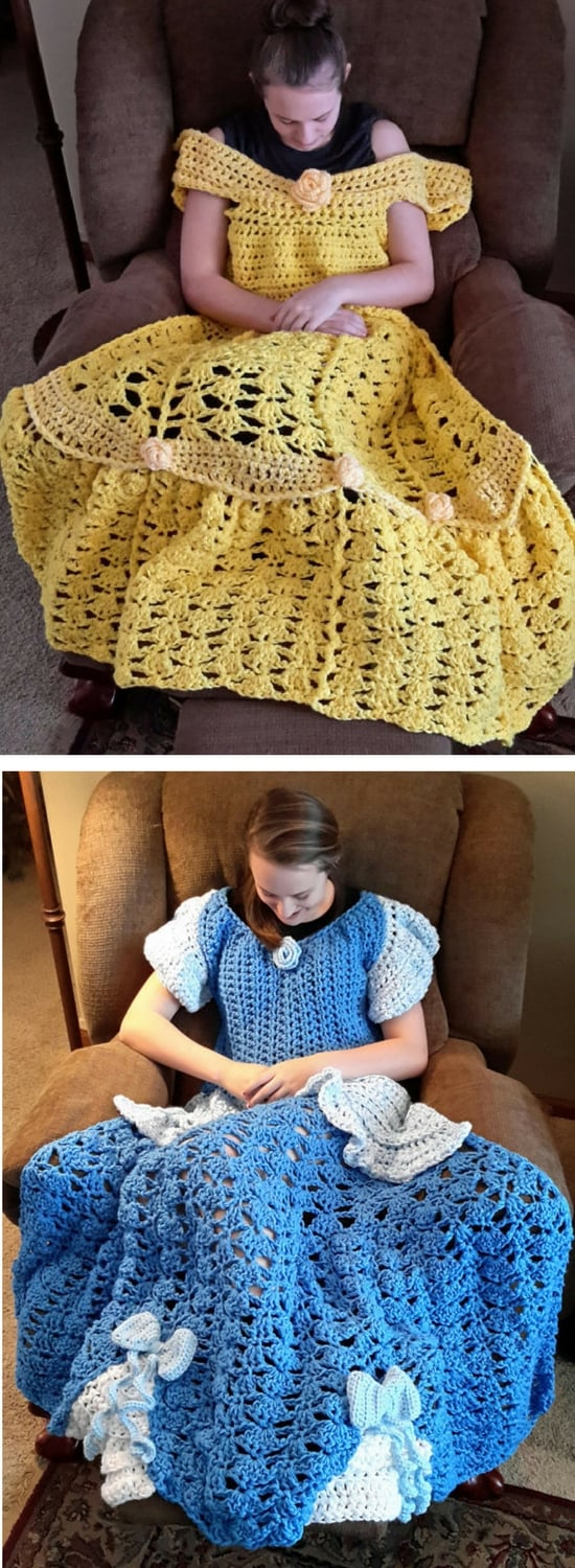 Crochet Princess Dress Blanket Pattern Best Ideas