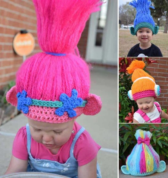 This ...  sc 1 st  The WHOot & Crochet Trolls Hat Ideas The Most Cutest Collection Ever