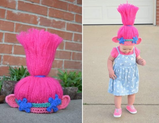 Crochet Trolls Hat Ideas The Most Cutest Collection Ever 7235b5e1513