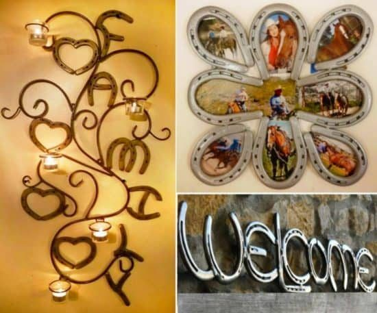 Horseshoe art ideas pinterest top pins that you 39 ll love for Old horseshoe projects
