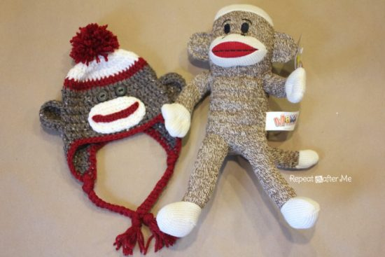 f8add3b66e4 Do you have a special little someone who would love to wear a cute Sock Monkey  Crochet Hat