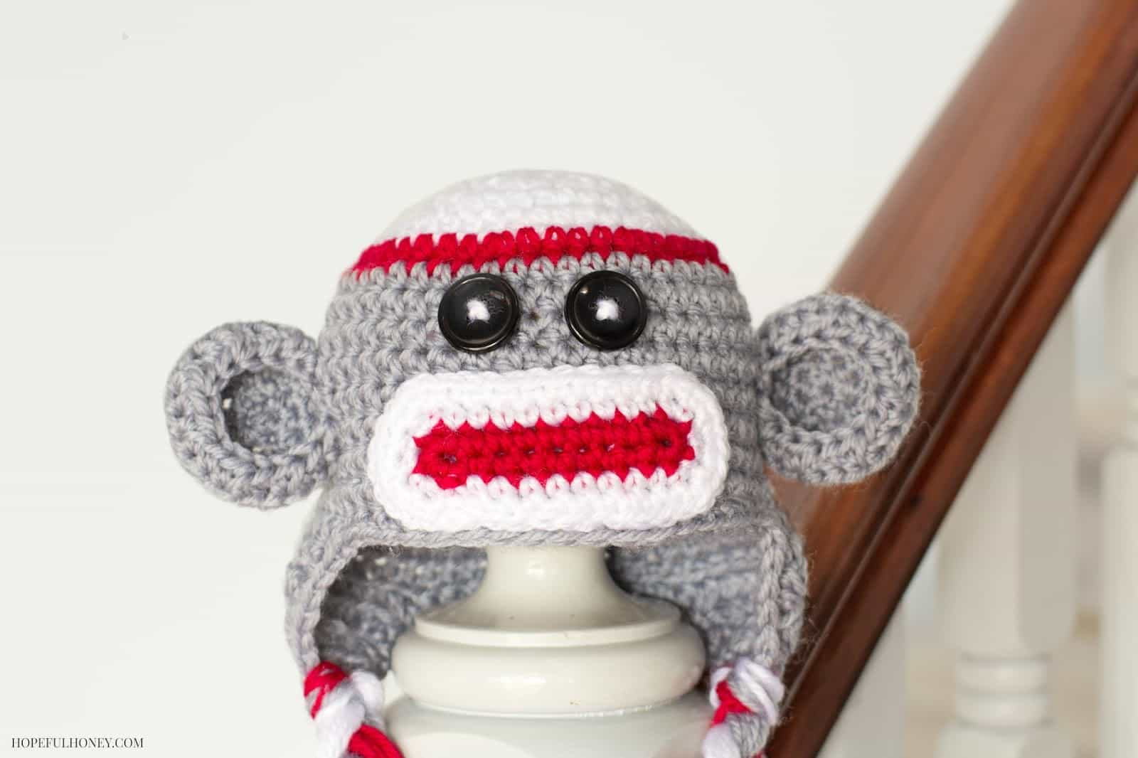 113cd625e90 Sock Monkey Crochet Pattern