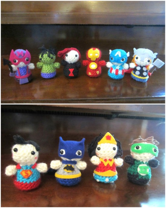 Superhero Amigurumi Ideas | 689x550