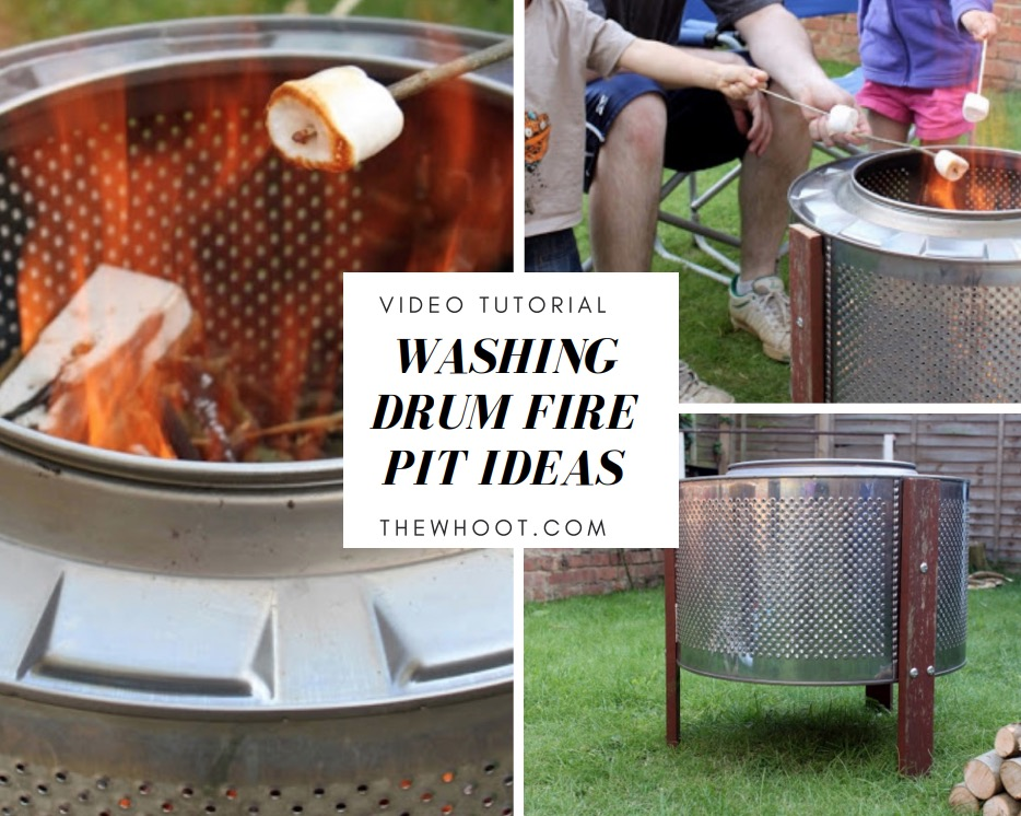 This ... - Washer Drum Fire Pit Ideas Tutorial A Super Easy DIY