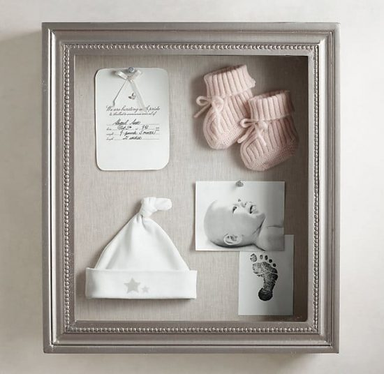 New Baby Shadow Box Ideas Diy Video Instructions