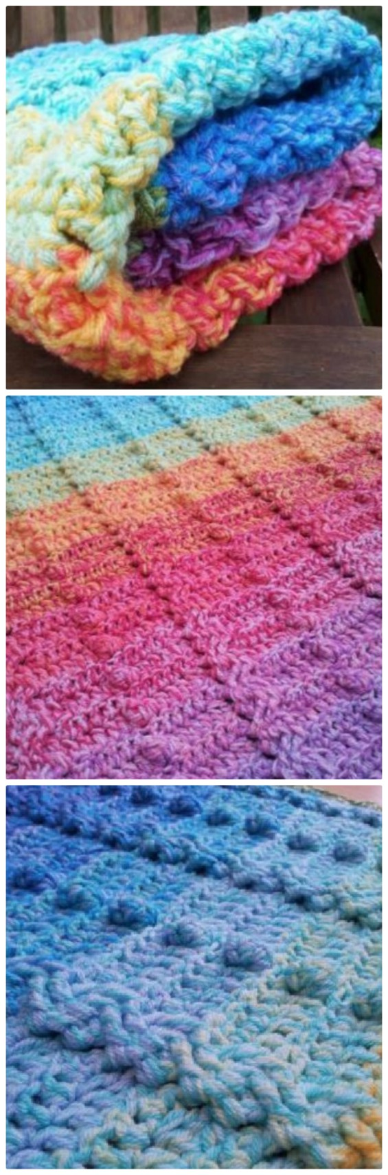 Crochet Bobble Stitch Rug Lots Of Free Patterns Youll Love Diagram Pattern This Beautiful