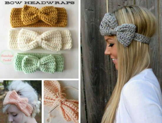 Crochet Bow Headband An Easy Free Pattern The Whoot