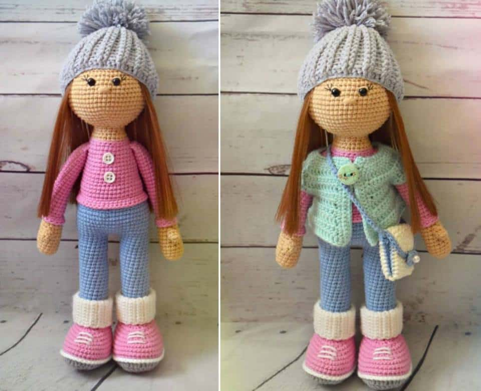 Crochet Doll Toys Free Patterns | 779x960