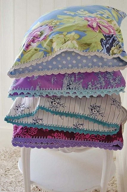 Crochet Pillowcase Edging Pattern Lots Of Great Ideas The Whoot
