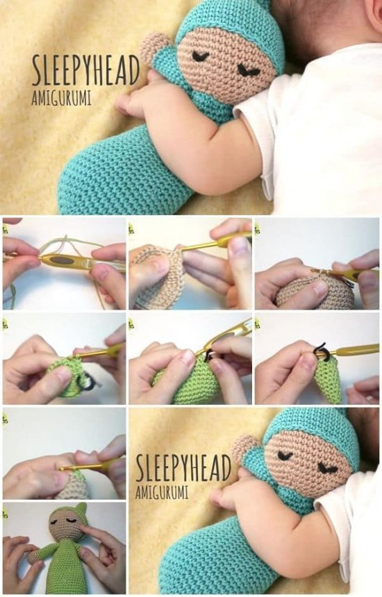 I wish there were a pattern for this. One of the cutest baby dolls ... | 860x550