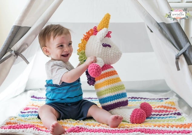 Super Cute Unicorn Crochet Patterns The Whoot