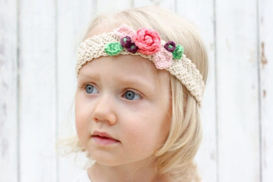 Crochet Baby Headband Patterns and Easy Video Tutorial c43cbdefdf5