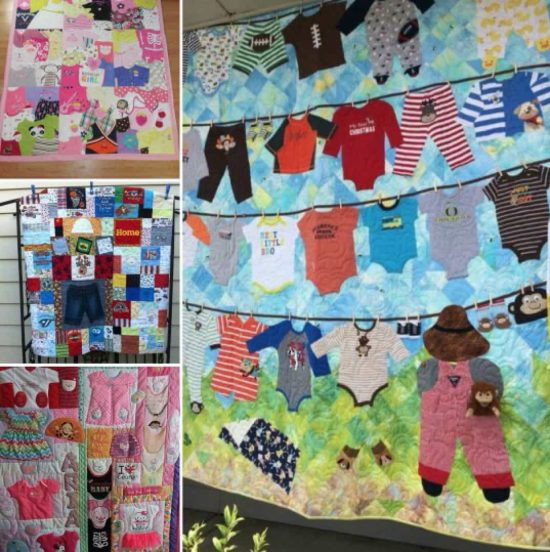 DIY Baby Clothes Memory Quilt Pattern Video Tutorial : memorial quilt patterns - Adamdwight.com