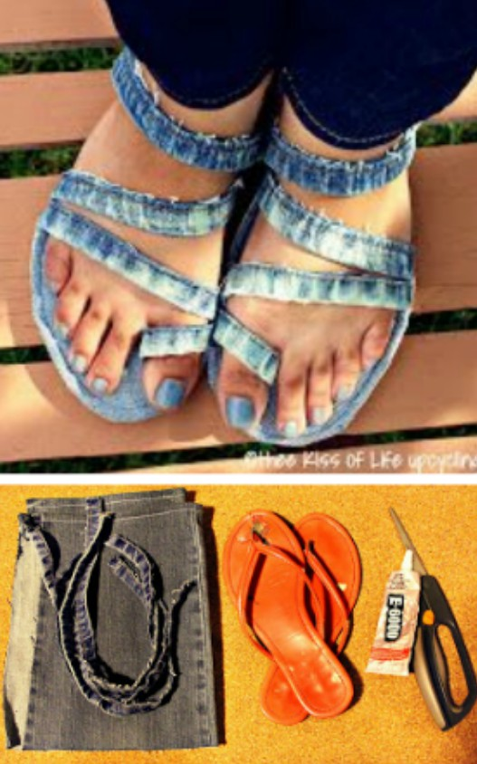 30963545d Upcycled Flip Flop DIY Ideas You ll Love