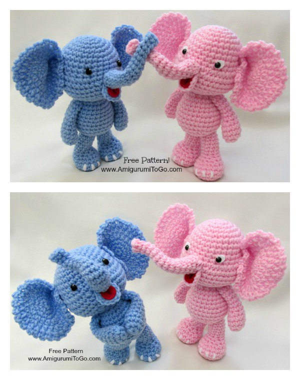 Elephant Crochet Lots Of Adorable Patterns The Whoot