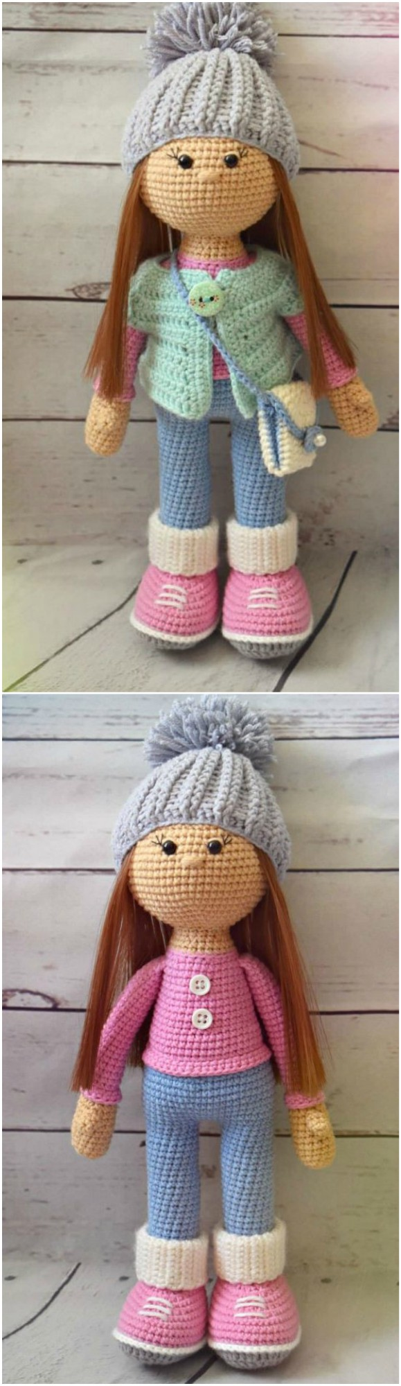 Amigurumi Doll Free Crochet Patterns - YouTube | 2000x579